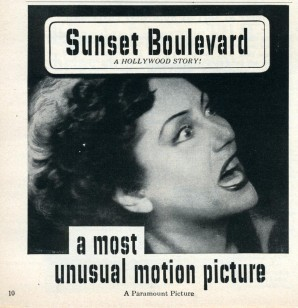 Sunset Boulevard a most unusual motion picture (1950)