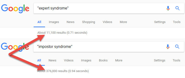 expert syndrome doesn't exist